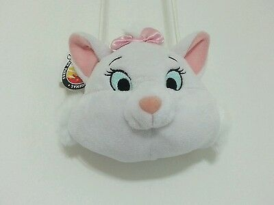 Disney Parks Marie Neck Coin Purse Kiss Lock Pink Bow Break Away Strap