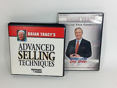 BRIAN TRACY Advanced Selling Technique / Outselling Your Competition Seminar DVD