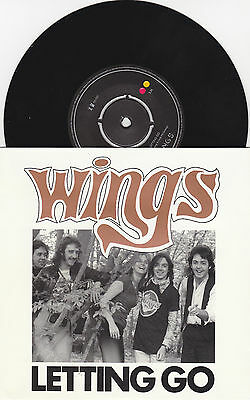 "Wings - Letting Go / You Gave Me The Answer - 7"" RSD 2014 Vinyl 45 - New"