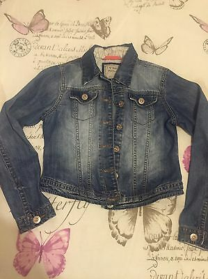 Girls Next Denim Jacket Age 11-12 - Immaculate Condition