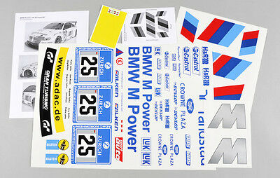 Stickers set BMW M3 ALMS FG 1/5 08185