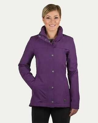 New - Noble Outfitters Cheval Waterproof Jacket, Dark Purple Large