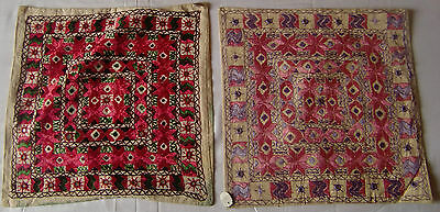 Beautiful Handmade Old Vintage Patch Work Cushions/pillow Cover India Finest Art