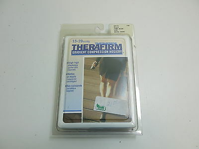 Therafirm Therapeutic Compression Hosiery Thigh High Stockings S/p Beige 68110