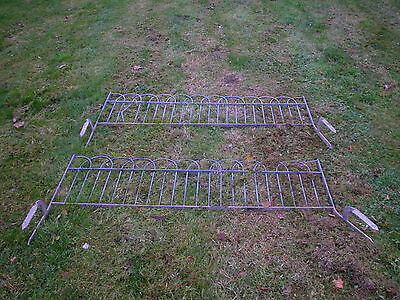 Railings -  Wrought Iron - Garden Fencing - Park - Galvanised - Boarders - Path