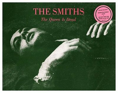 the Smiths  *POSTER*  the Queen Is Dead  - Morrissey Johnny Marr PROMO AD