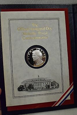 Official 1977 Jimmy Carter Inaugural Silver Medal