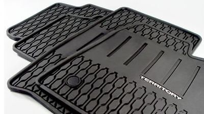 Ford Territory Rubber Floor Mats Weather Proof AR7JA13002CA Set of 4 New Genuine