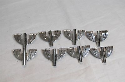Set of 8 Chrome Bass Drum Claws