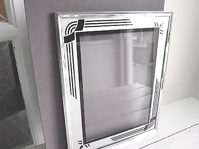 Beautiful Vintage Art Deco Table Top Picture Frame 8'' X 10''