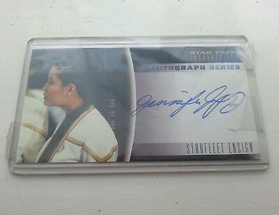 Star Trek Insurrection JENNIFER TUNG Autographed Signed trading card A8