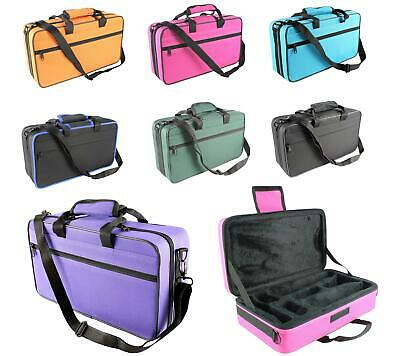 CLARINET CASE  with Shoulder Strap Many colors - choose! NEW