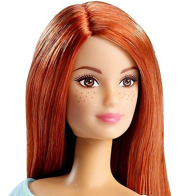 2016 Barbie NUDE Made to Move Articulated Ultimate Posable Doll Auburn Hair