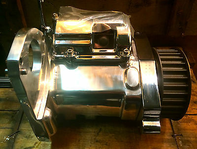 IRONHORSE RSD 6 SPEED TRANSMISSION Polished Harley Chopper Right Side Drive