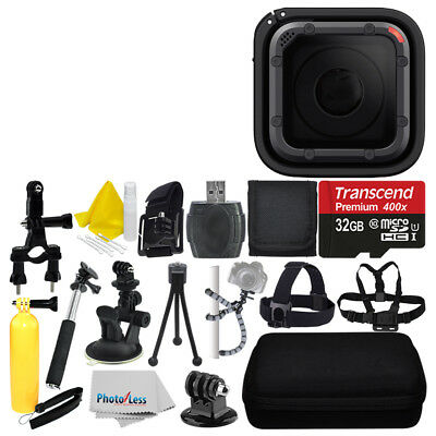 GoPro HERO5 Session 4K Action Camera + 32GB Deluxe Accessory Bundle