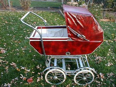 Vintage Baby Carriage Convertable Stroller from Wonda Chair1950's-'60s CHICAGO