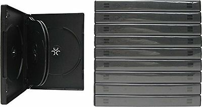 CheckOutStore 10 Black 6 Disc DVD Cases