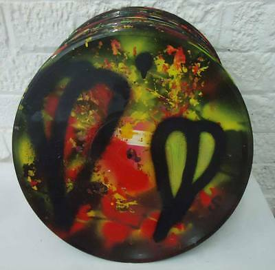 """SEAN WORRALL- HAND PAINTED 12"""" VINYL 85/100  Contemporary Street Art - CULTIVATE"""