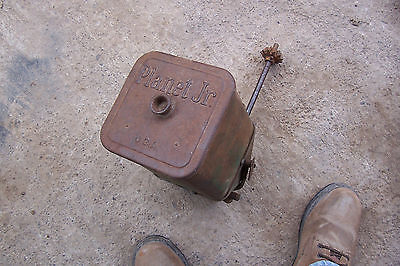 Planet Jr. Junior 300A seeder box with lid and geardrive