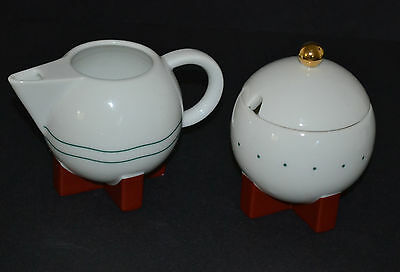 Michael Graves 1987 For Swid Powell Creamer And Sugar Bowl
