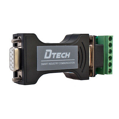 RS232 to RS485 RS422 Serial Adapter Converter 9 Pin Interface Data Communication