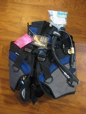 NEW Mares Vector Platinum Jacket BC BCD Scuba Dive w/ tags large pockets Large L