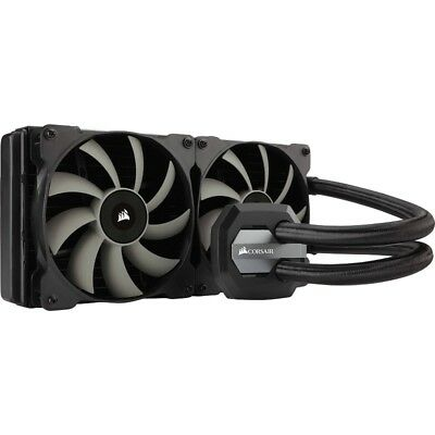 Corsair H115i 280mm Extreme Performance Liquid CPU Cooler. 2x 14CM Fan Support C