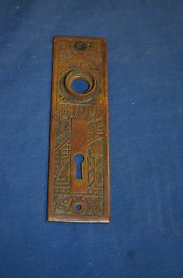 Original Art Deco Vintage Solid Brass Door Plates