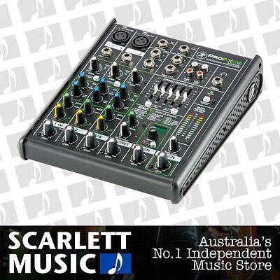 Mackie ProFX4 V2 4 Channel Professional Compact Mixer w' FX **BRAND NEW**