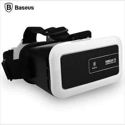 Baseus Dreamland Headband VR Virsual 3D Glasses With Resin+ABS For IOS Android