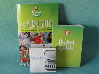 Weight Watchers 2016 Beyond The Scale Plan Guide + Pocket Guide + Calculator