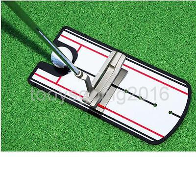 Golf Tour Mirror Putting Mirror Putter Face Alignment Golf Training Aid Tool Kit