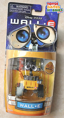 *NEW* Disney Pixar Wall-E Toy Action Figure 2.5 inch Robot Collector Item SEALED