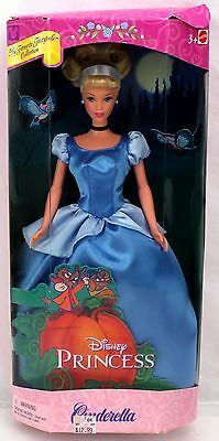 Barbie Disney Princess CINDERELLA Favorite Fairytale Blue Dress #29175 2000