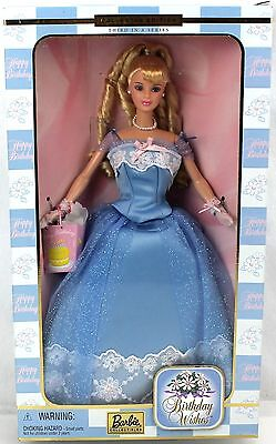 Barbie BIRTHDAY WISHES 3rd Collector Ed Blue Gown #28434 2000