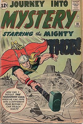 Journey Into Mystery #86 Gd-! 1St Appearance Of Odin - Tad Stones' Collection