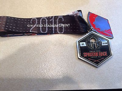 2016 Spartan Race Stadium Series Sprint Finisher Medal Red