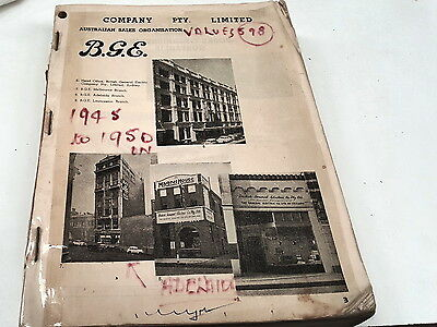 1940s GENERAL ELECTRIC Catalogue LIGHTS FRIDGES RADIOS etc  RARE