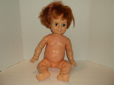 Vintage 1972-73 BABY CRISSY IDEAL Toy Corp Growing Red Hair Doll