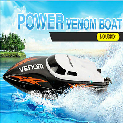 UDI UDI001-O Tempo Power Venom 2.4GHz High Speed RC Boat Electric Yacht Toy Gift