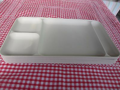 Tupperware Trays set of 4,TV dinners,Craft,Picnics ,Camping,stacking