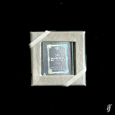 ~ Judaica Tehilim /real Holy Book Miniature  Silver / 10 Bbb