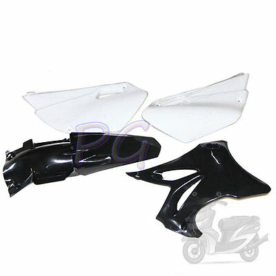 Black Motoecycle Brandnew Yz85 Yz 85 Plastics Fenders Kit 2002-2014