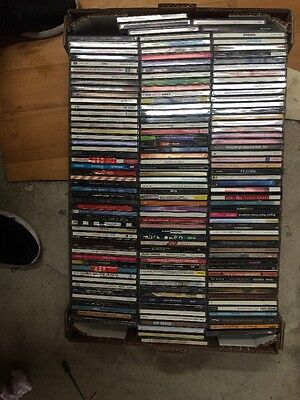 cd Job Lot Of 4000 Albums Used All Barcoded