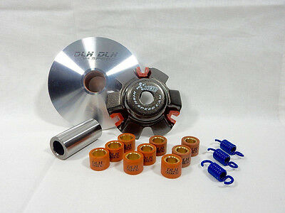 50cc COMPLETE HIGH PERFORMANCE VARIATOR FOR SCOOTERS WITH GY6 QMB139 MOTORS NEW