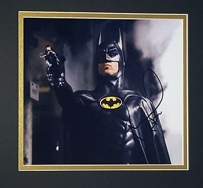 Michael Keaton Autographed 8x10 in Batman Movie