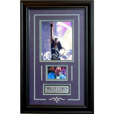 Miley Cyrus Autographed 8x10 Framed