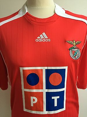 BENFICA 2006-2007 HOME Football Shirt ADIDAS Size L Large