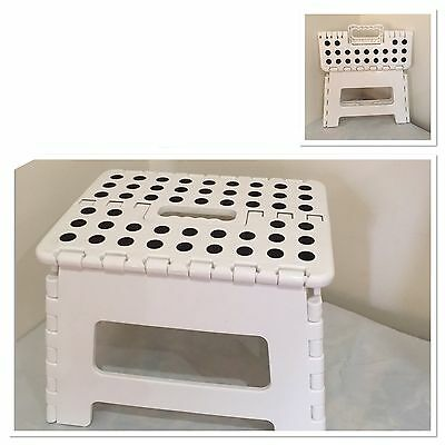 Step Stool Foldable Portable Store Flat Folding Indoor Outdoor Camping Chair