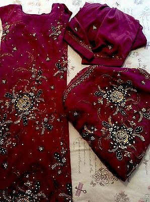 Indian Bridal Wear Suit Salwal Kameez RRP£60+
